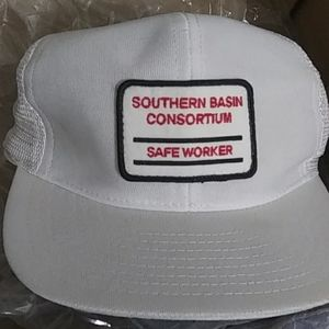 Vintage Trucker Safe Work Hat